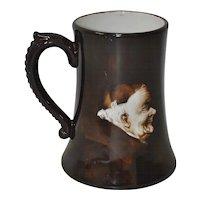 Ester Miler Hand Painted Limoges Monk Mug w/ Handle c.1900