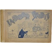 "Antique Comic Book ""Indoor Sports"" by TAD Dorgan c.1915"