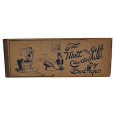 The Mutt and Jeff Cartoons by Bud Fisher c.1908