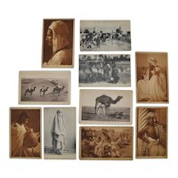 Lehnert & Landrock North Africa Photo Cards c.1910