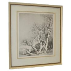 "Mildred Bryant Brooks (1901-1995) ""The Promise of Spring"" Print"
