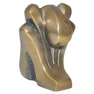 Tom Bennett (California) Miniature Bronze Sculpture
