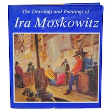"""Ira Moskowitz """"The Drawings and Paintings"""" Signed Book"""
