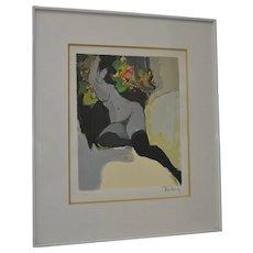 Itzchak Tarkay Figural Nude Color Serigraph Limited Edition