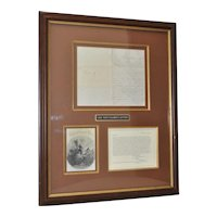 U.S. Civil War Soldier's Letter c .1860s