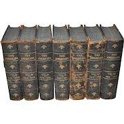 "Seven Volumes of ""The Americana"" c.1910"