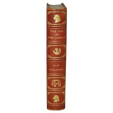 """H.M. Tomlinson """"The Sea and The Jungle"""" First Edition w/ Woodcuts by Clare Leighton c.1930"""