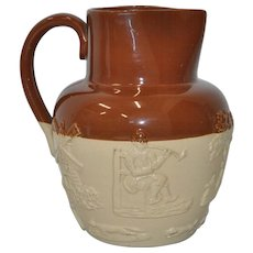 English Stoneware Pitcher c.1900