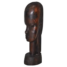Exotic Wood Carved Figure
