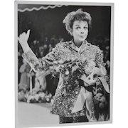 Judy Garland Black & White Photograph c.1960s