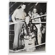 "Jim ""Cinderella Man"" Braddock Press Photo c.1937"