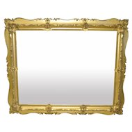 19th C. Carved & Gilded Frame