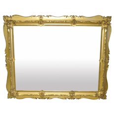 19th C. Carved & Gilded Frame