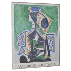 "Picasso Exhibition Poster ""Hamburger Kunsthalle"" Hamburg, Germany"