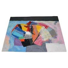 "Calman Shemi ""Abstract"" Tapestry"
