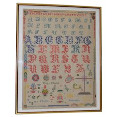 Vintage Alphabet Sampler by Marie Merceat