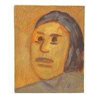 "Arthur J. Krakower (1921-2009) ""Laurie"" Original Oil on Canvas c.1998"
