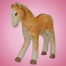 Steiff Classic Stuffed Pony c.1990s