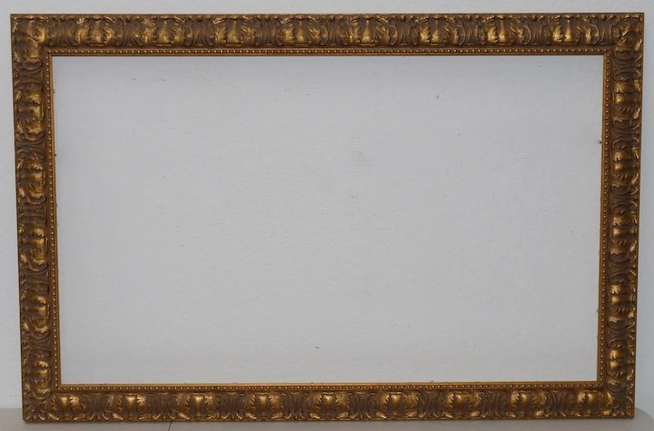 Early 20th Century Carved & Gilded Frame c.1930 : Antique Canvas ...