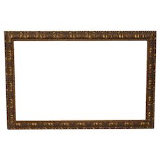 Early 20th Century Carved & Gilded Frame c.1930