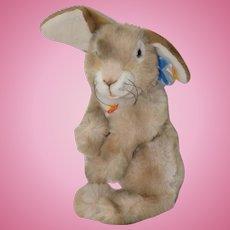 "Vintage Steiff ""Pusti"" Plush Cottontail Rabbit c.1990s"