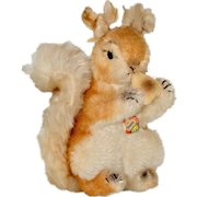 "Vintage Steiff ""Possy"" Squirrel c.1960s"