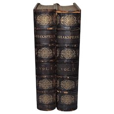 The Works of Shakspere Imperial Edition Edited by Charles Knight c.1870s