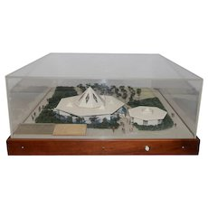 New York World's Fair Christian Science Pavilion Architect's Model c.1964