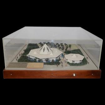 New York World's Fair Christian Science Pavilion Architect's Model c.1964