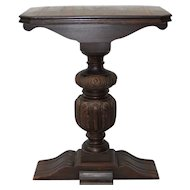 Antique Carved Mahogany Wall Console / Plant Stand c.1900