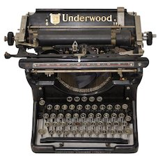 Antique Underwood Typewriter c.1910