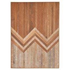 Aleksandra Zee Geometric Wooden Wall Hanging