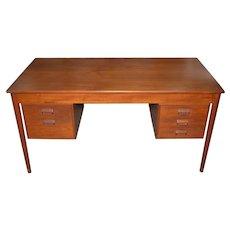 Vintage Danish Modern Teak Desk by Børge Mogensen  for Søborg Møbler  c.1960s