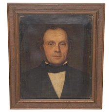 Fine 19th Century Oil Portrait of a Distinguised Gentelman