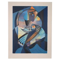 Neal Doty (1941-2016) Mother and Child Serigraph S/N c.1979