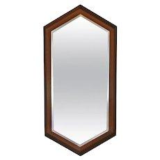 Walnut Framed Mirror by Arthur Umanoff for Howard Miller c.1965