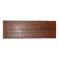 "19th Century ""Double Metre"" Horse Measuring Stick c.1890s"