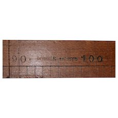 "19th Century ""Double Metre"" Horse Measuring Stick c.1890s"