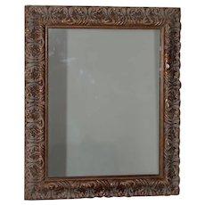 Vintage Carved Frame with Mirror