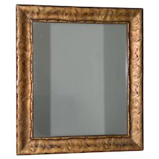 Art Nouveau Carved & Gilded Frame with Mirror c. 1890 to 1910