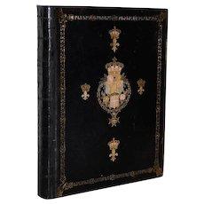 Early 20th Century Prayer Book of King Edward VII c.1904