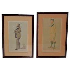 Pair of Antique Vanity Fair SPY Prints