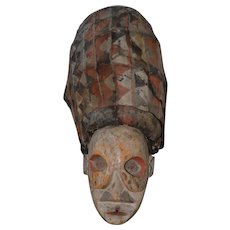 Authentic African Witch Doctors Mask c.1940s