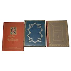 Lot of Three Rare Books on Portrait Miniatures