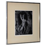 Aaron Siskind (1903-1911) Black & White Photograph c.1970 Signed / Dated