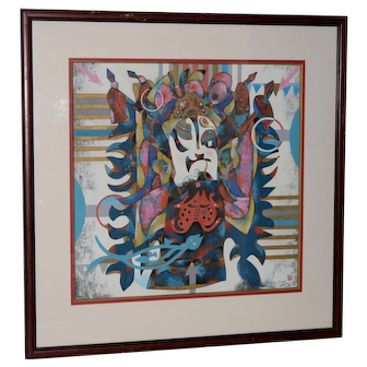 Chinese Painting by Qu Jian Xiong