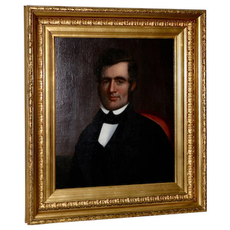 Fine 19th Century Oil Portrait of a Young Man