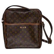 Louis Vuitton Leather Shoulder Bag w/ Adjustable Strap