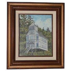 Diane Beeston Original Oil Painting c.1970s