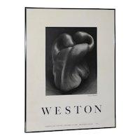 "Edward Weston ""Bell Pepper"" Poster c.1979"